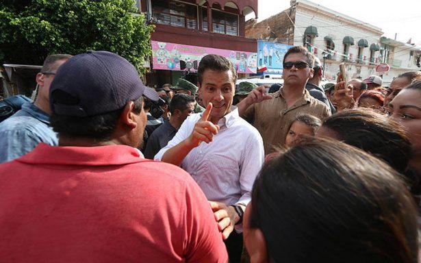 No permitan que lucren con tragedia del temblor, pide EPN a población