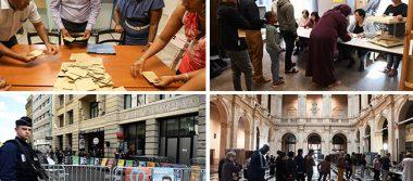 Participación a media tarde en elecciones de Francia alcanza el 69.42%