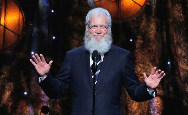 David Letterman regresa a la televisión tras dos años de ausencia