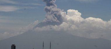 Cambiarían dos rutas de evacuación del volcán Popocatépetl