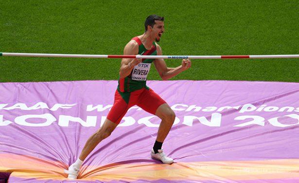 ¡Un mexicano clasifica a final del Mundial de Atletismo!