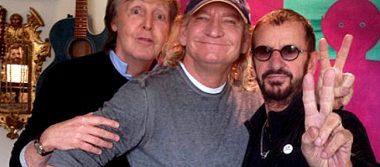 Ringo Starr y Paul McCartney juntos por primera vez en siete años