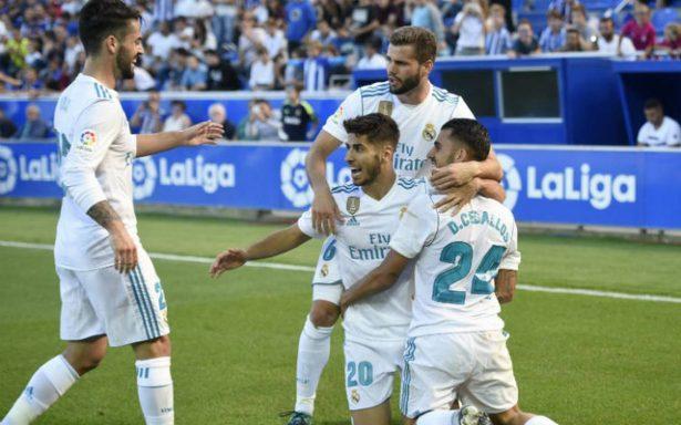 Real Madrid vuelve a la senda del triunfo contra el Alavés