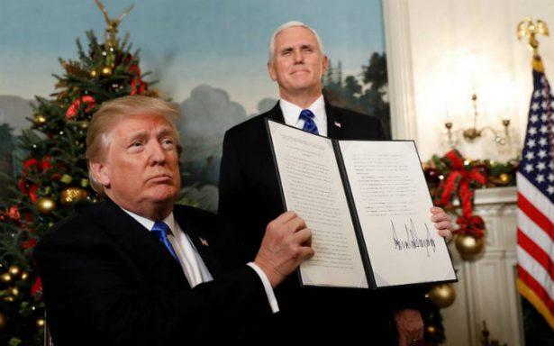 Líderes del mundo condenan decisión de Trump sobre Jerusalén