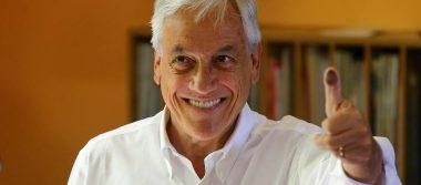 Piñera encabeza resultados en elección presidencial de Chile