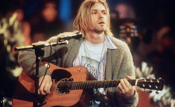 ¡Fans de Nirvana! Alistan subasta de guitarra de Kurt Cobain