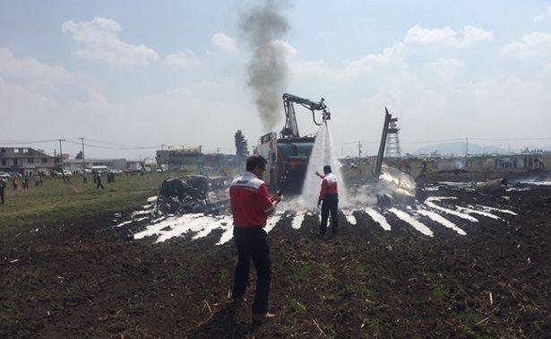 Piloto de avioneta caída en Toluca estaba relacionado al narco