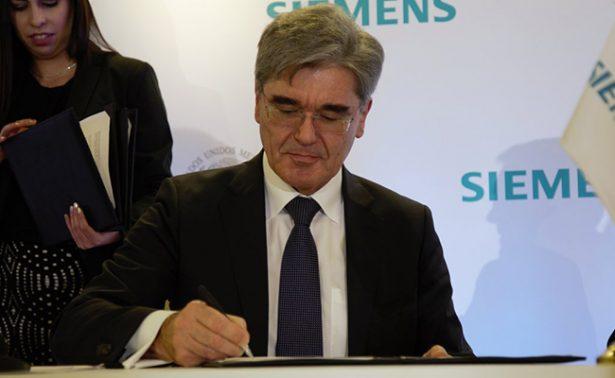 La alemana Siemens buscará proyectos por 36 mil mdd en México
