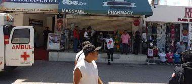 Reportan balacera en Quinta Avenida de Playa del Carmen