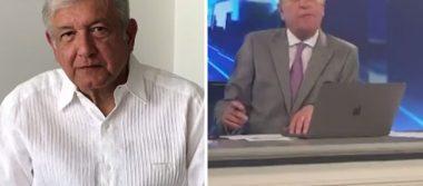 José Cárdenas y AMLO protagonizan pelea en transmisión en vivo