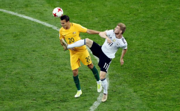 Australia cae ante Alemania 3-2 en su debut en la Confederaciones