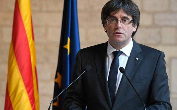 Puigdemont pide un frente independentista en las elecciones catalanas