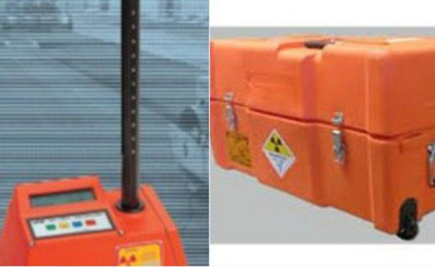 Permanece alerta en seis estados por robo de fuente radioactiva