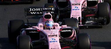 """""""Checo"""" Pérez, entre los 10 primeros en el Gran Premio de Mónaco"""