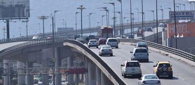 Registra autopista México-Puebla mediana afluencia vehicular