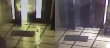 [Video] Artefacto explota en la entrada del Episcopado Mexicano