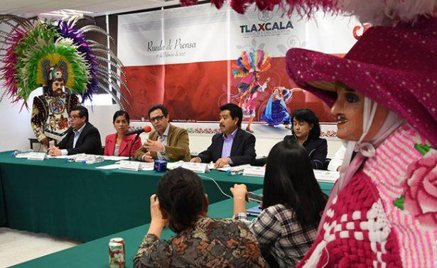 Desfilarán 170 camadas en el Carnaval de Tlaxcala 2017