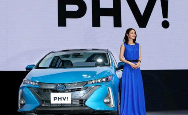 Presenta Toyota híbrido  de fácil recarga
