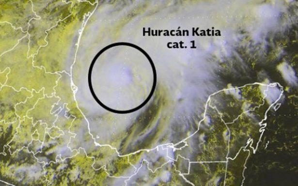 Katia se convierte en huracán categoría 1; amenaza costas de Veracruz