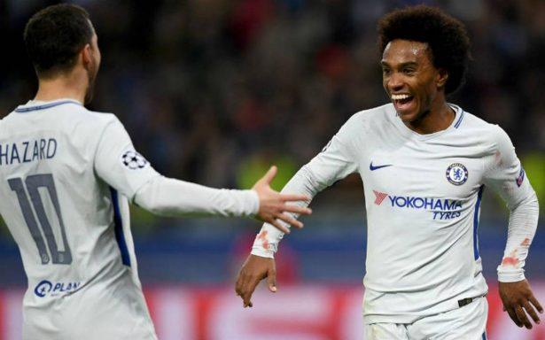 Tras golear al Qarabag, Chelsea obtiene su boleto a octavos