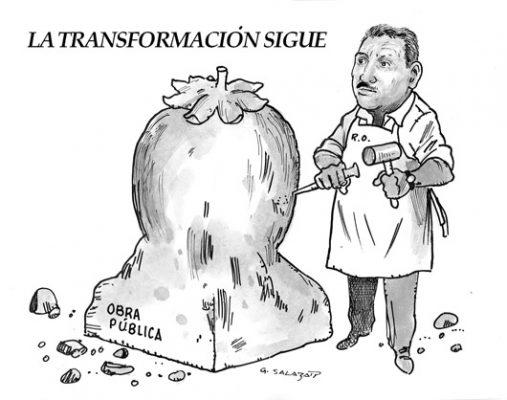 Hoy en el Cartón de Salazar / LA TRANSFORMACIÓN SIGUE