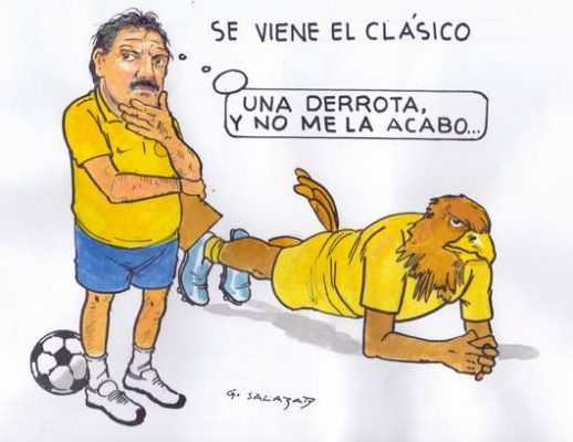 Hoy en el Cartón de Salazar / SE VIENE EL CLÁSICO
