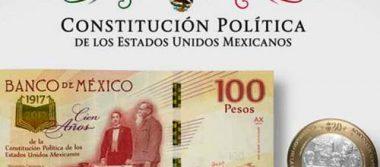 Lanza Banco de México billete y moneda conmemorativas