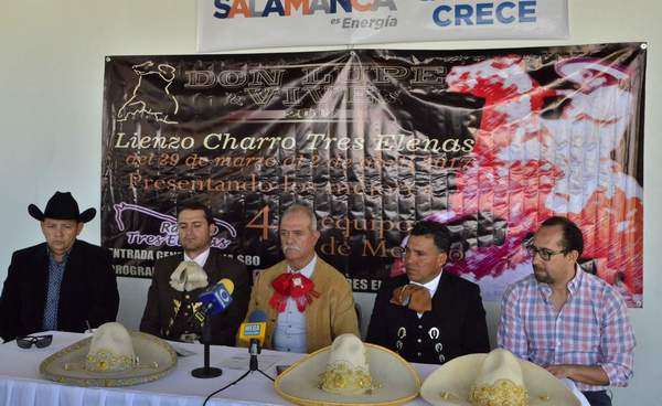 "Internacionalizan Torneo de Charros ""Don Lupe Vive 2017"""