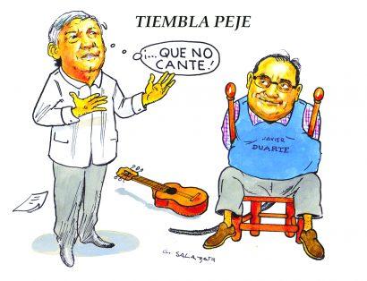 Hoy en el Cartón de Salazar / TIEMBLA PEJE