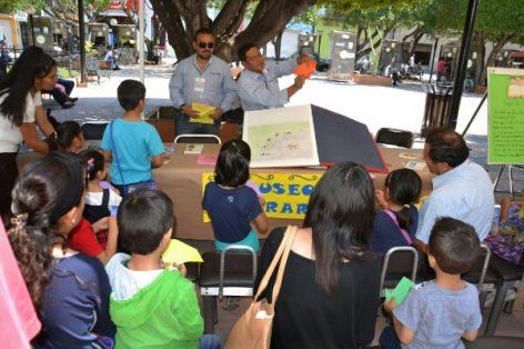 Realizan actividades en el marco del Día Internacional del Libro