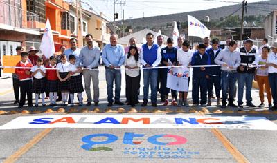 Inaugura Toño Arredondo obra de infraestructura en Cerro Gordo