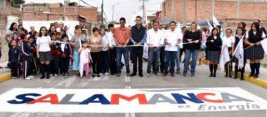 Inaugura alcalde calle en la 18 de Marzo