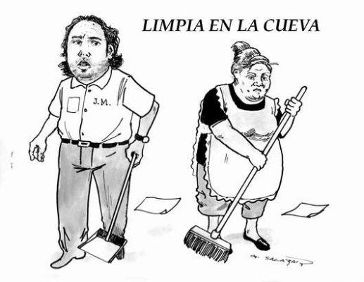 Hoy en el Cartón de Salazar / LIMPIA EN LA CUEVA