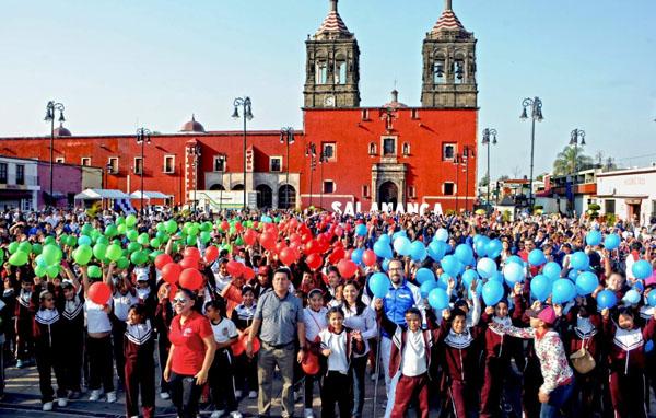 """Salamanca participará en activación física mundial """"el Día del Desafío"""""""
