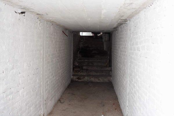 """Rehabilitan túnel de acceso al campo empastado del Estadio """"El Molinito"""""""