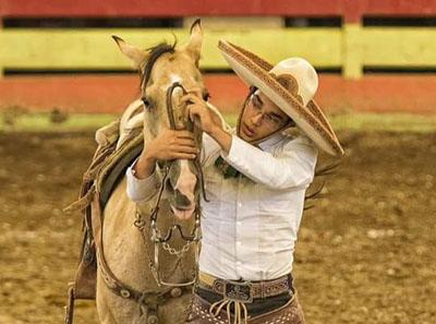 José Luis Aboites satisfecho por conquistar tetracampeonato estatal charro completo