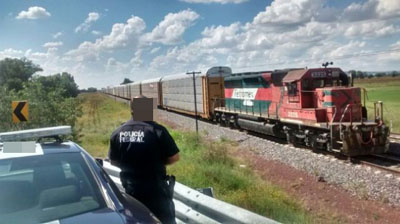 Disminuyeron en 90% los robos al tren en los últimos meses