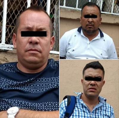 Tres personas detenidas con cheques, identificaciones y vehículo con alteración en el número de serie