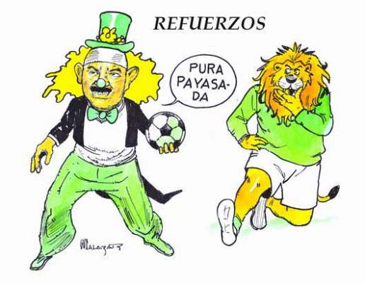 Hoy en el Cartón de Salazar / REFUERZOS