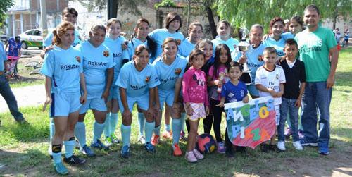 Inaugura temporada Liga de Futbol Femenil de Salamanca
