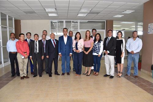 Toño Arredondo sostiene reunión de trabajo con directivos de la Universidad Tecnológica de Salamanca