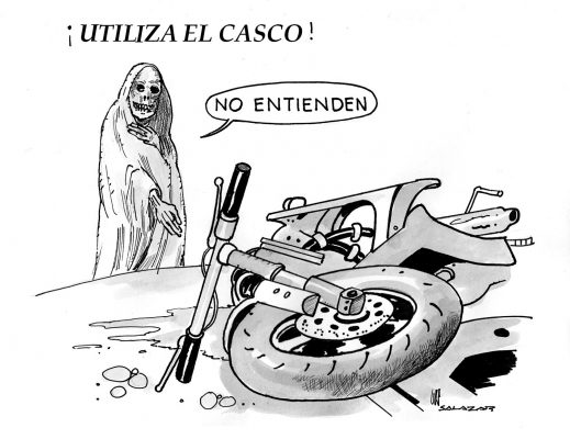 Hoy en el cartón de Salazar / ¡UTILIZA EL CASCO!