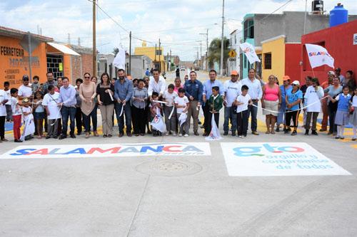 Alcalde Antonio Arredondo inaugura obras en la Colonia Amplicación El Cerrito
