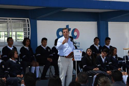 Inversión de 255 millones de pesos en infraestructura educativa: MMM