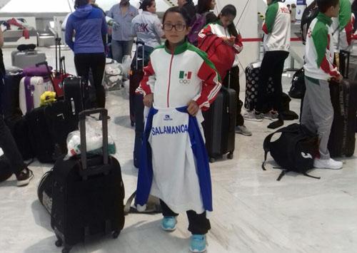 Artemarcialista salmantina viaja a Argentina con Selección Nacional