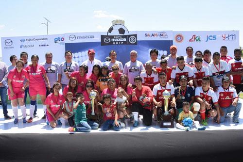 Concluye Copa Mazda y Mazda Jr 2017