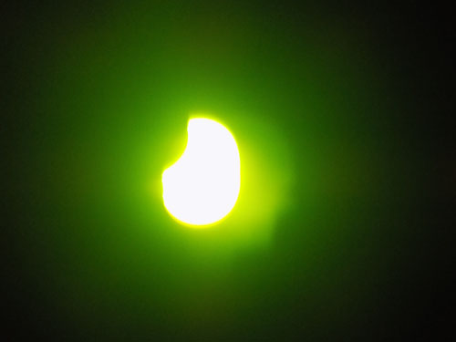 Viven vallenses eclipse solar
