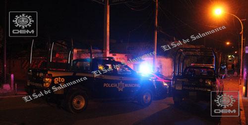 Policía municipal sale ileso en ataque en la zona centro