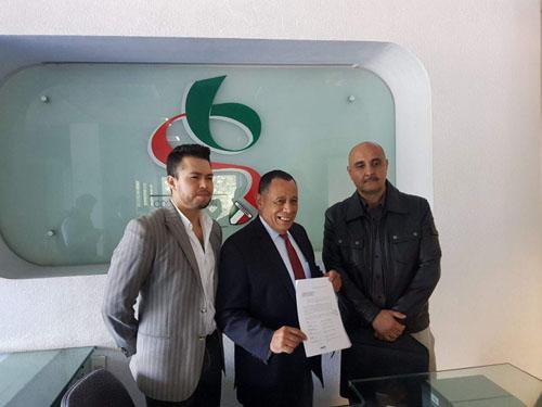 AGFF apoya postulación del titular de FMFF a presidencia de CODEME