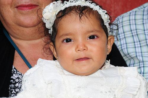 Es bautizada Alexa Guadalupe